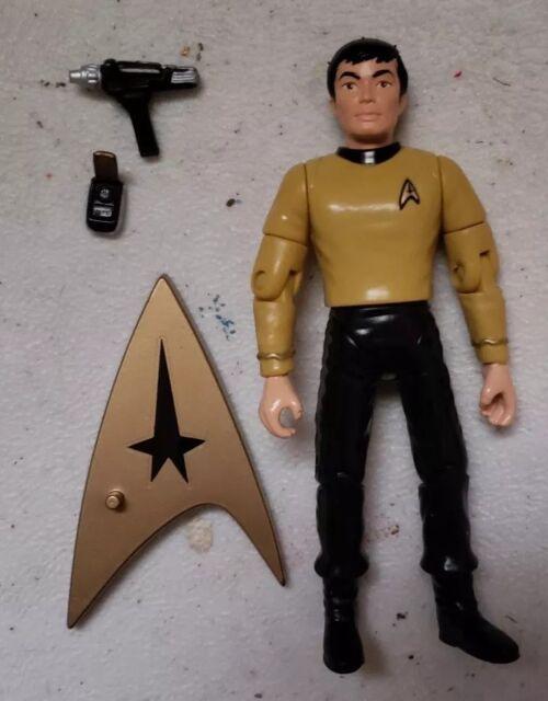 Star Trek Classic TOS Uniform Mr Lt Sulu w Phaser Communicator Playmates Figure