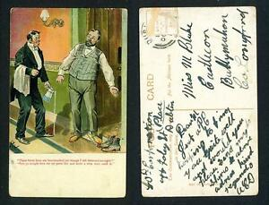 COMIC-THESE-BOOTS-HAVE-NOT-YET-BEEN-TOUCHED-USED-CANCEL-c1900