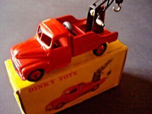Dinky Toys 35a Citroen U23 Depannage Boite D'origine