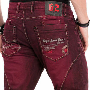 CIPO-amp-BAXX-SONOMA-MENS-JEANS-DENIM-STRAIGHT-CUT-ALL-SIZES