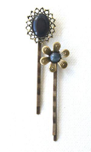Bronze bobby pin cheveux adhérence diapositive mariage pince à cheveux demoiselle d/'honneur cheveux accessoire