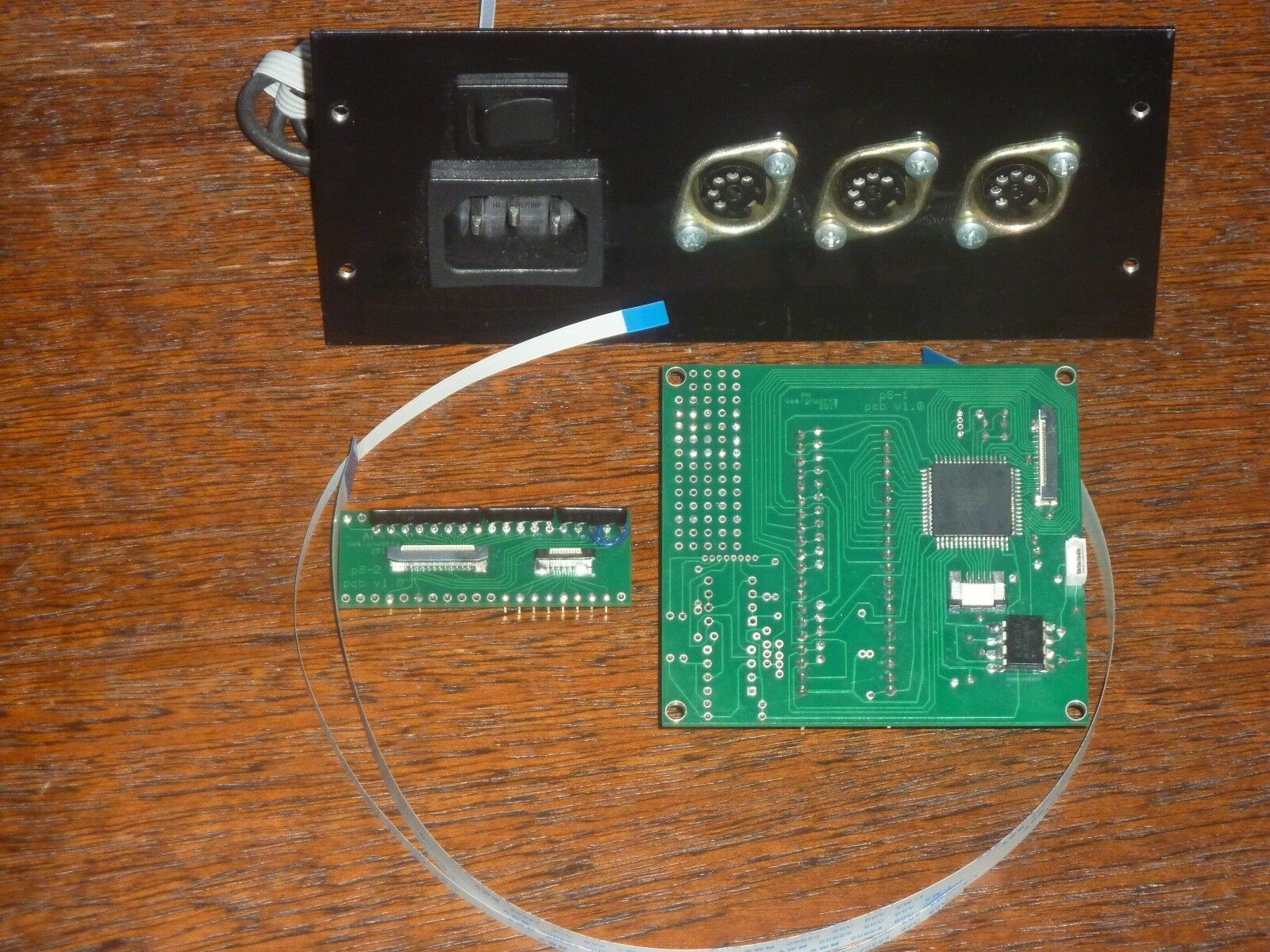 Full midi upgrade for Korg Polysix sinthestorlekr  PolyMix