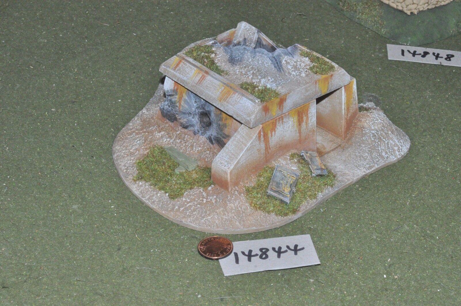 25mm bunker scenery terrain (as photo) (14844)