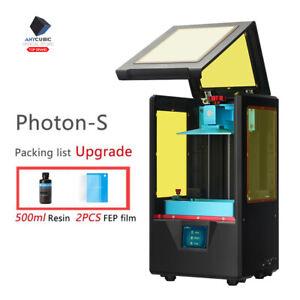 ES-ANYCUBIC-SLA-Photon-S-Impresora-3D-con-500ml-Resina-UV-2-8-034-TFT-Doble-eje-z