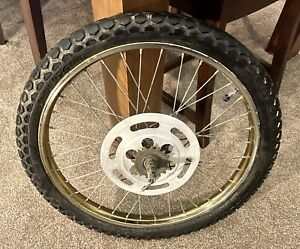 RALEIGH GRIFTER REAR WHEEL WITH ORIGINAL SUPERGRIP TYRE