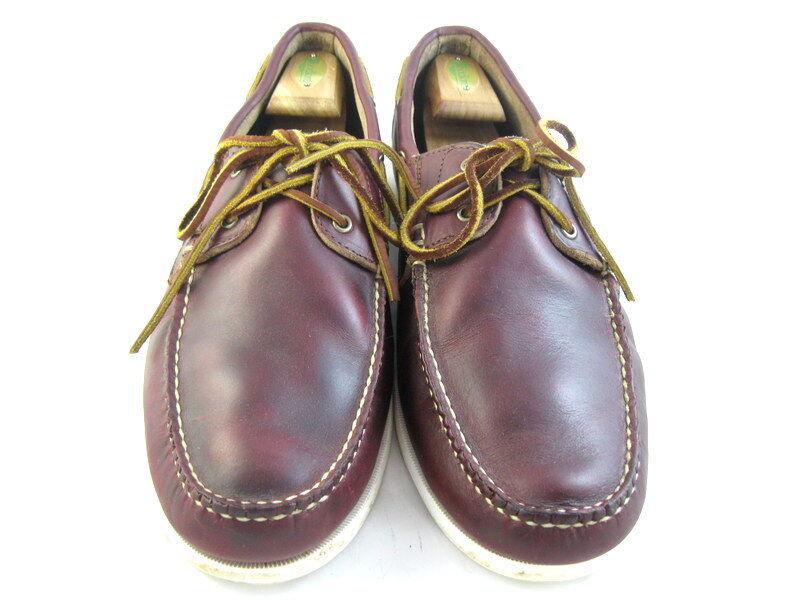 Allen Edmonds  Maritime  Chaussures Bateau 15 D bordeaux (628)