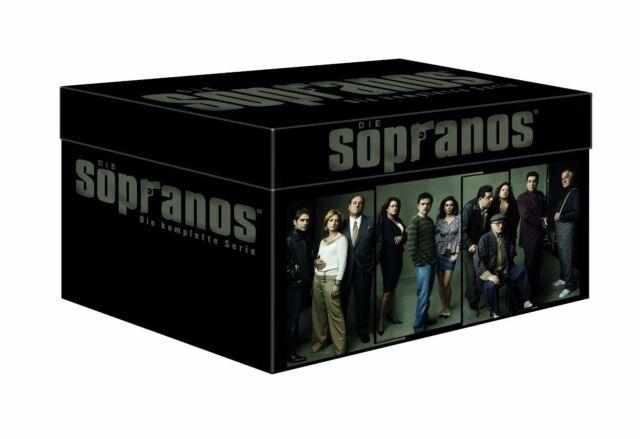 Die Sopranos komplette Serie Komplettbox - Mafiabox - Staffel 1-6 - DVD NEU&OVP
