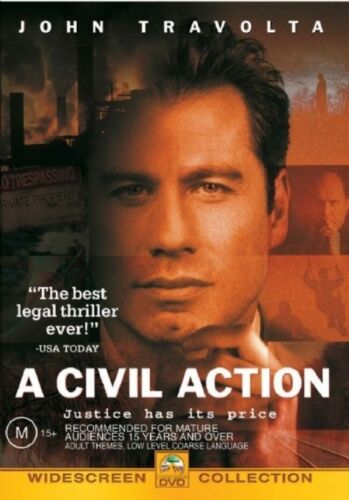 1 of 1 - A Civil Action (DVD, 2002)