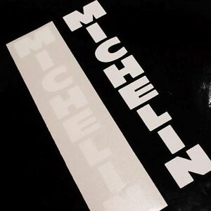 MICHELIN-Fork-stickers-WHITE-f4i-tires-pilot-sport-decals-r-1-3-6-m-gsx-r-srad