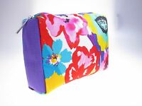 CLINIQUE Spring Flower Cosmetic Make up Bag Case Travel Toiletry FREE FAST P/P