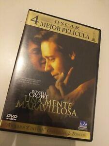 Dvd-Una-mente-maravillosa-con-russell-crowe-edicion-Awards-2-dvd