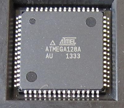 10PCS IC ATMEGA128A-AU QFP-64 8-bit Microcontroller NEW