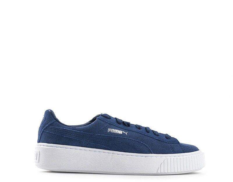 Puma shoes women sneakers suede blueE 362223-02