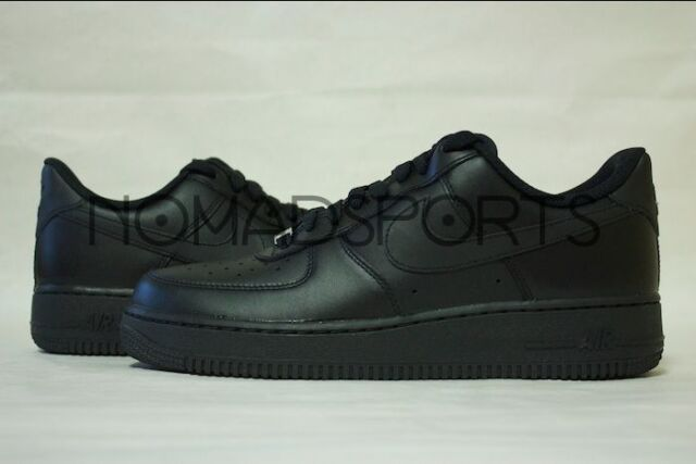 16e60f73d9be7 Nike Mens Air Force 1 Low 07 Basketball Shoes Black black All Sizes ...