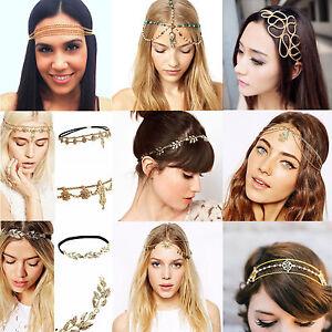 Fashion-Women-Head-Chain-Jewelry-Metal-Rhinestone-Headband-Head-Piece-Hair-band