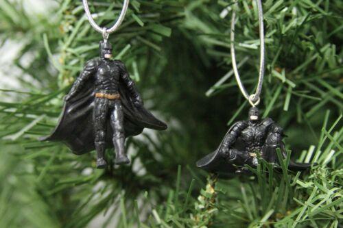 "Batman DC /""Dark Knight/"" Set of 4 Mini Christmas Ornaments"