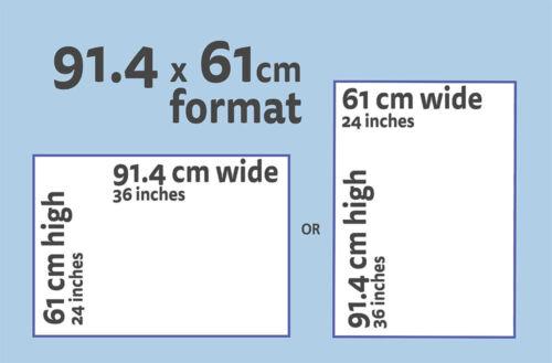 "GTHO PHASE 3 PURPLE 91 x 61 cm 36/"" x 24/"" FORD FALCON XY POSTER"