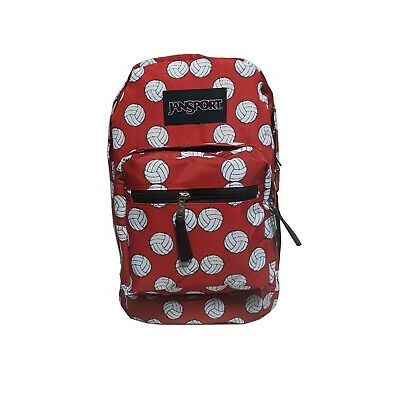 100% AUTHENTIC JanSport LIMITED EDITION VOLLEYBALL PRINT Backpack