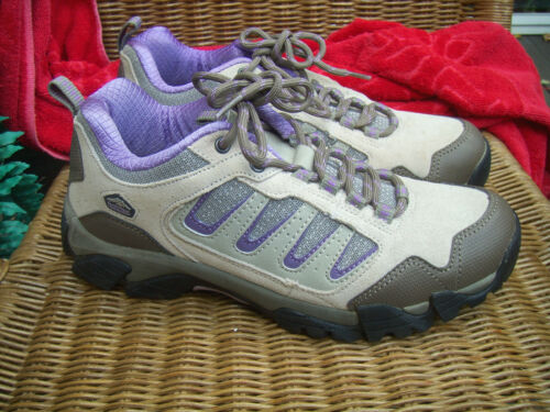 WOMENS PACIFIC TRAIL (ALTA) BEIGE/PURPLE HIKING TR