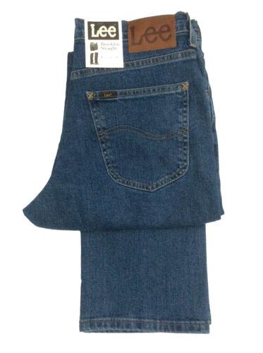 Coupe Lee Braguette Jeans Brooklyn Zip D Droite Extensible 56W6fn7F