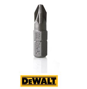DEWALT DT7908 Torsion Pozi Bits PH2 or PZ2 25mm - Various Quantity