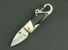 Folding Pocket Mini Key Chain Camping Hiking Knives Gear Tool Small Clasp Knife