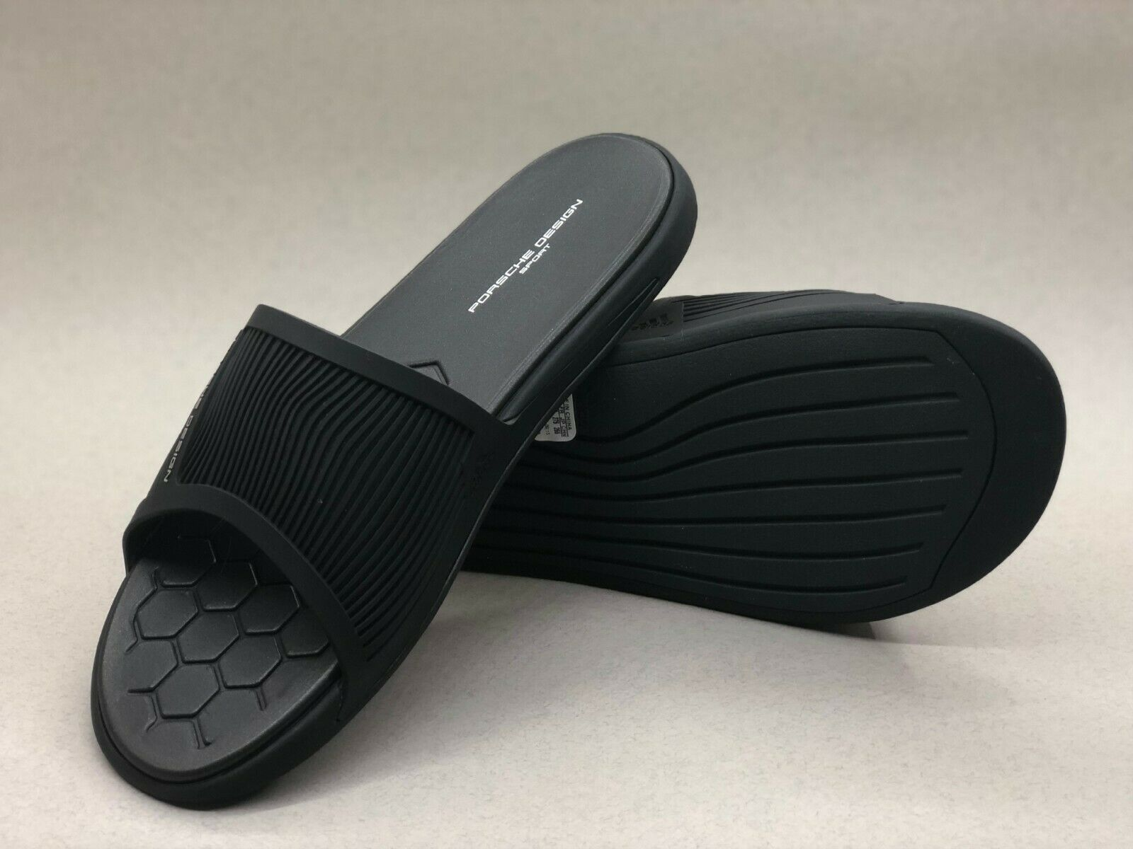 Adidas Porsche Sport P'5000 Gimnasio diapositiva Negro Design B39980