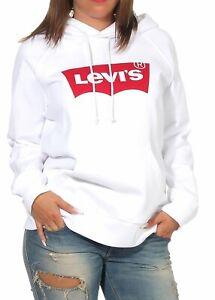 Details zu Levi`s Damen Hoodie Pullover Kapuzenpullover Sweatshirt Hoody Pulli Shirt 35946