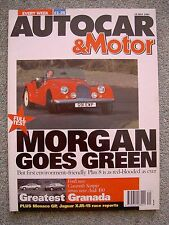 Autocar (15 May 1991) Morgan Plus 8, Vector W8, Passat VR6, Audi 100 v Scorpio