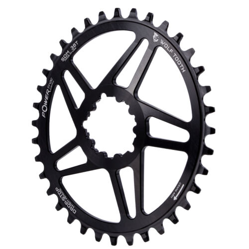 Wolf Tooth Components Powertrac Elliptical Drop-Stop Chainring 36T SRAM