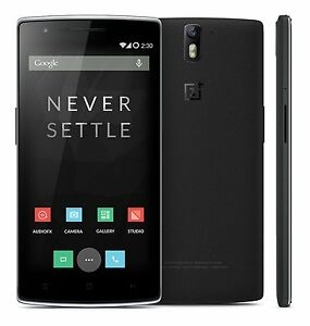 New oneplus 1 one a0001 factory unlocked 64gb 3gb ram android 4g image is loading new oneplus 1 one a0001 factory unlocked 64gb sciox Image collections