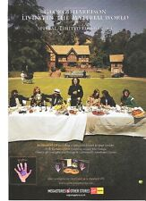 George Harrison 'Material World' 2006 UK magazine ADVERT/mini Poster 11x8 inches