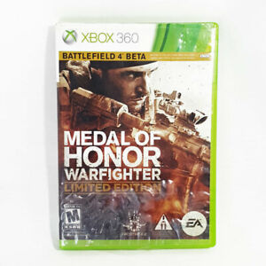 Medal of Honor: Warfighter | Limited Edition (Microsoft Xbox 360, 2012)