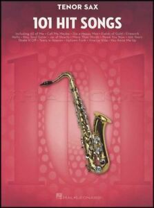 101-Hit-Songs-for-Tenor-Sax-Saxophone-Sheet-Music-Book-Perry-Lady-Gaga