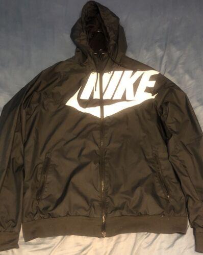 Rare Nike Gx1 Windrunner Size Medium Black