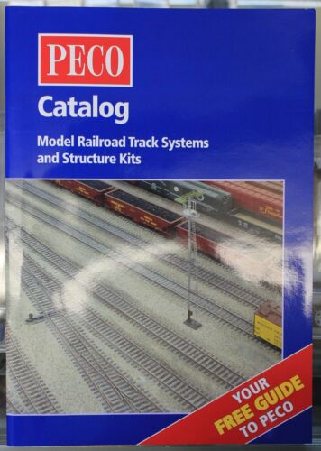 PECO Model Railroad Track Systems /& Structure Kits Catalog