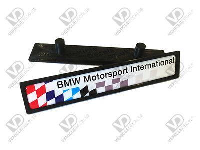 Bmw E36 M3 Bmw Motorsport International Tür Abzeichen Lte Harz Aftermarket Ebay
