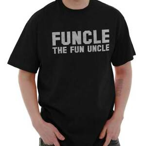 112411820 Funcle Fun Uncle Cool Funny Gift Cute Sarcastic Father T Shirt Tee ...