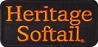 Harley Davidson Heritage Softail Vest Jacket Patch Nip Made In Usa