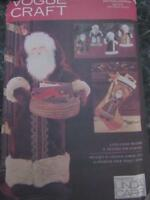 Vogue Sewing Pattern 28 Santa Father Christmas Card Holder Stocking Transfers