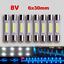 8pcs-Marantz-LED-Lamp-WHITE-AC8V-6x30mm-Dial-Meter-Light-Fuse-Bulb-Replacement thumbnail 1