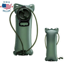 2L Bladder Water Bag Hydration Backpack System Survival Pack Camping Hiking
