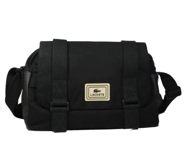 58b392863bc Lacoste Urban Mate Black Crossbody Messenger Bag Nh0139um for sale ...