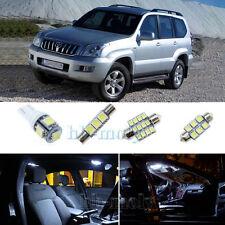 Car White Led Interior Light Upgrade Kit For Toyota Landcruiser Prado 120 x13pcs