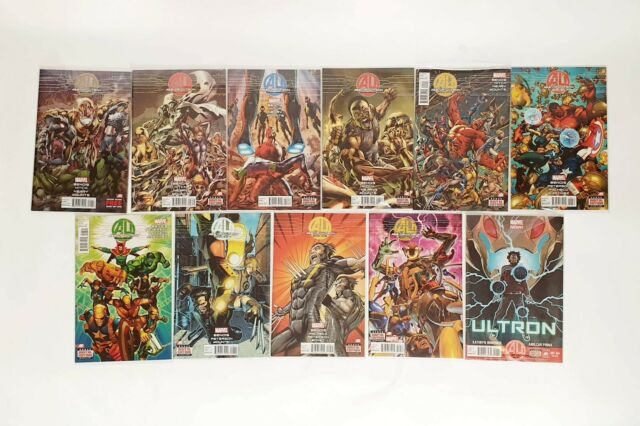 Marvel Avengers Age of Ultron Full Series Comics Complete Set Comic #1 to #11
