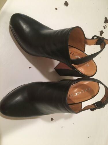 Coach Black Platform Heels size 8