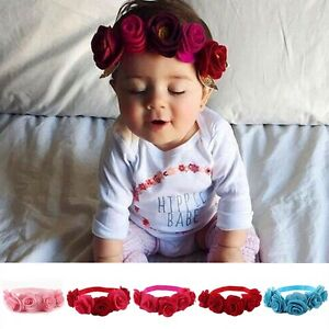 Newborn-Kids-Girls-Baby-Toddler-Chiffon-Flower-Hair-Band-Headband-Headwear-photo
