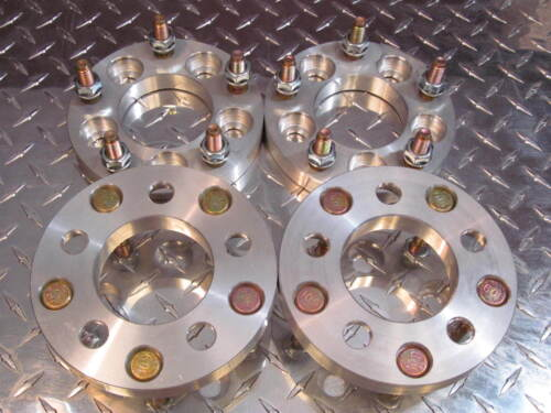 5x130 to 5x130 US Wheel Adapters 19mm Rim Spacers 12x1.5 lug stud 71.5mm Bore x4