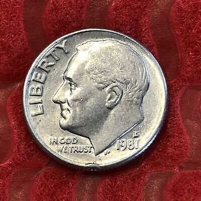 """US Roosevelt Dime /""""FREE SHIPPING/"""" 1984 D"""