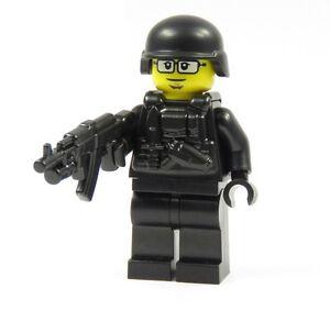 15x LEGO® Polizeimütze Kappe 3624 NEU schwarz